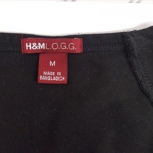 H&M Tops - H&M V-Neck Sleeveless Black TANK (P05-12)